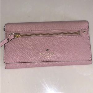 Authentic Kate Spade Wallet- light pink